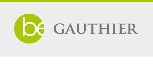 Be Gauthier - Design du logo