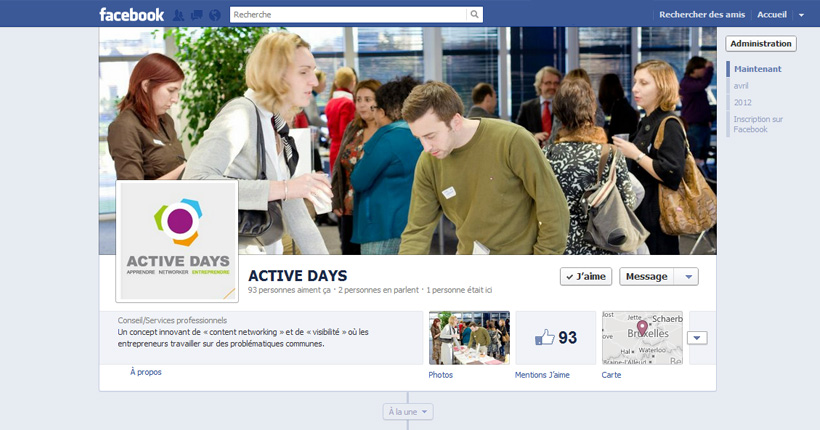 ACTIVE DAYS - Page Facebook